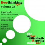 freethinking nyc, volume 25
