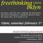 freethinking bklyn 140201